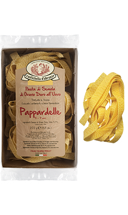 Pappardelle all'uovo 250g Packung | Rustichella d